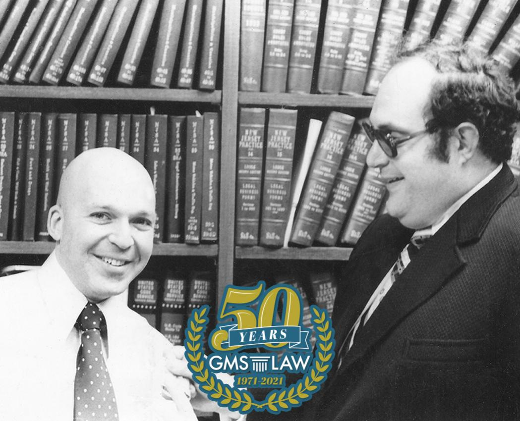 <p>In 1971 Harry Goldenberg and Ken Mackler formed a partnership with the goal to provide quality legal services. They started with a small office in pre-casino Atlantic City and a small client base which quickly grew. Fifteen attorneys, ten partners, five decades, and four locations later, GMS Law is proud to celebrate 50 years in business.</p>