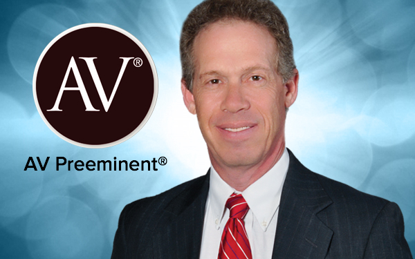 Mark Pfeffer, AV Preeminent Rated Attorney 2016