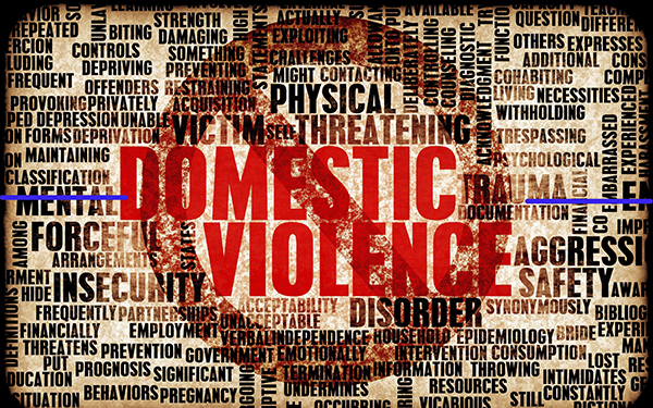 Anti Domestic Violence Graphic