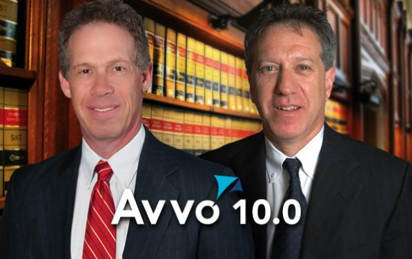 Mark Pfeffer and Joe Sayegh 10.0 Avvo Rating